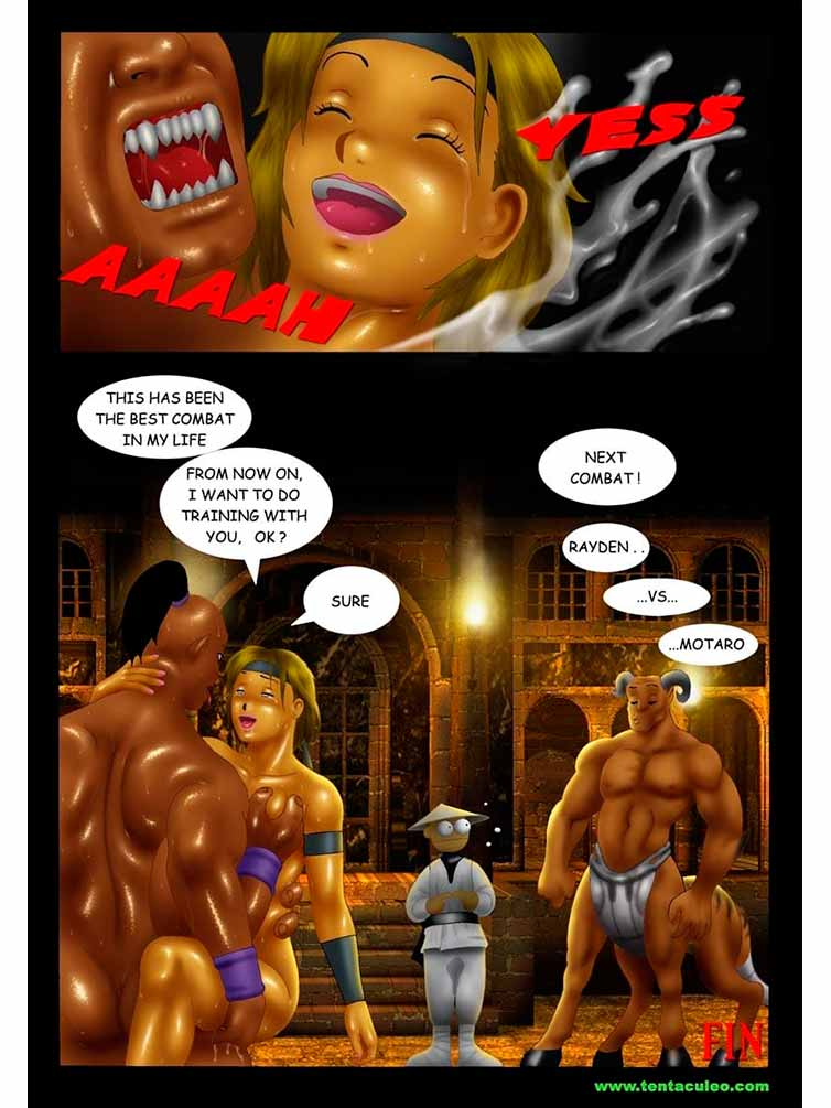 sonya blade porno-comic