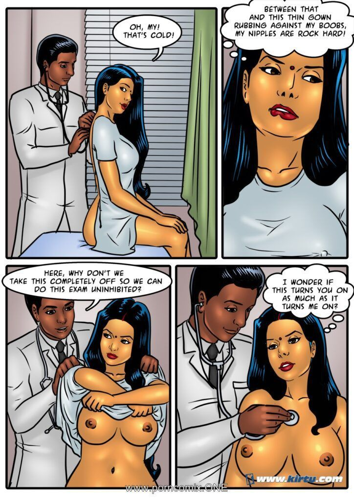 Savita playing doctor