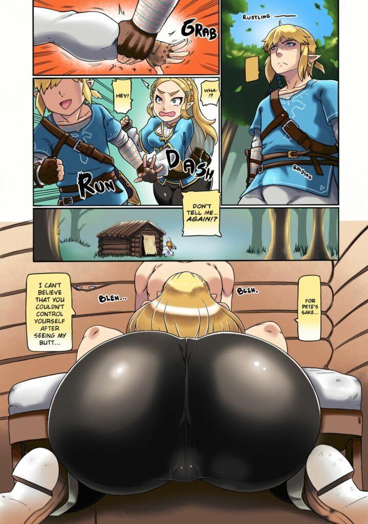 The Legend of Zelda: The Erotic Dream