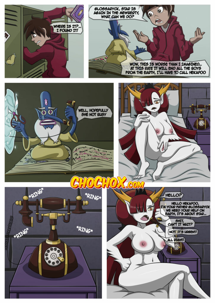 Hekapoo vs. Star - Excited with lesbian sex