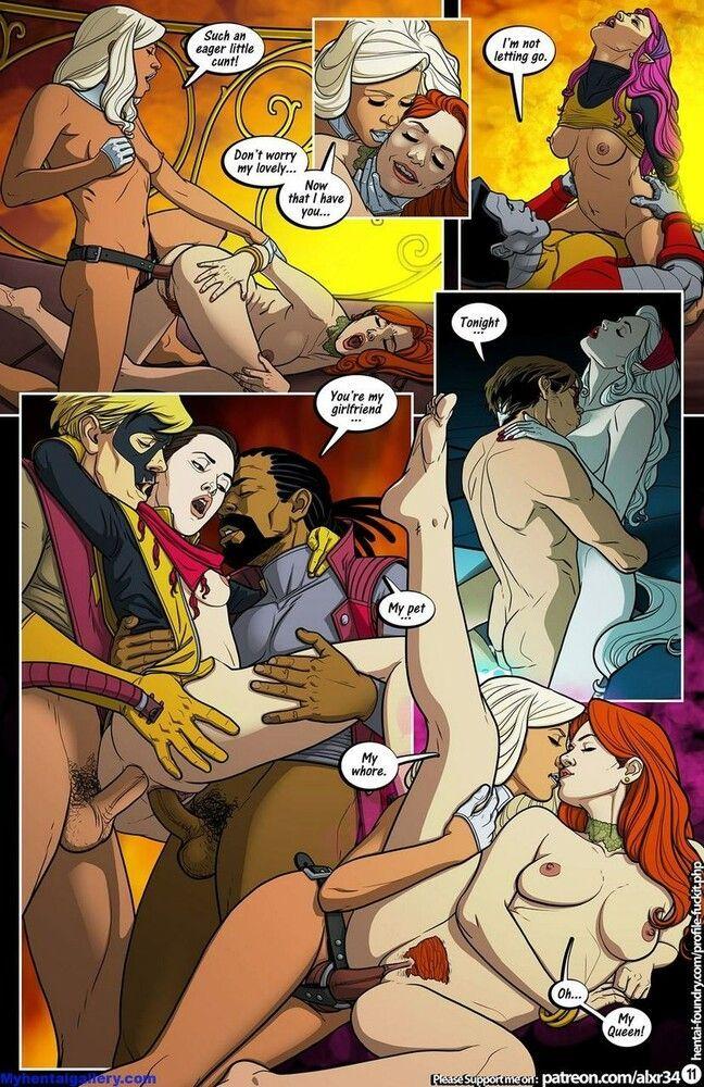 X-men Porn - Slut at the party