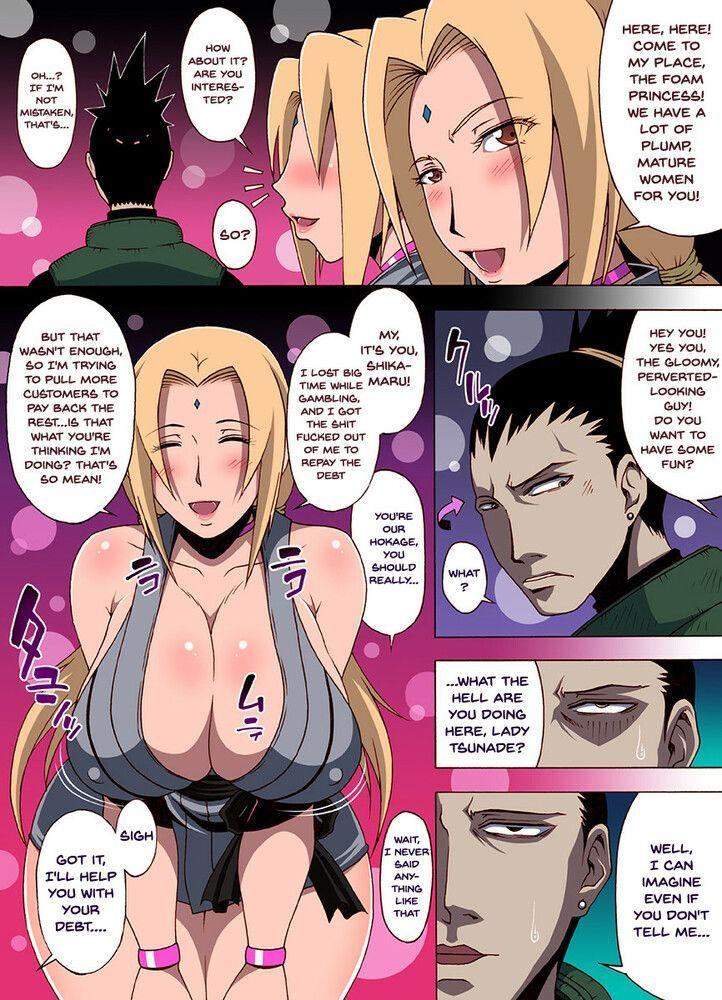 Naruto Hentai: Tsunade bitch