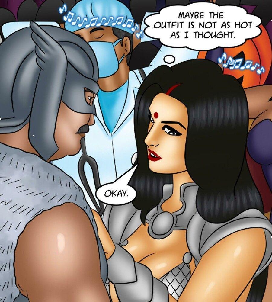 Savita: Sex at the costume party