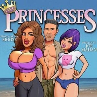 Two Princesses Having Sex on the Beach
