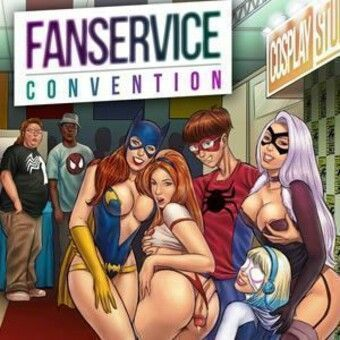 Fanservice Convention - The nerds and slut heroines
