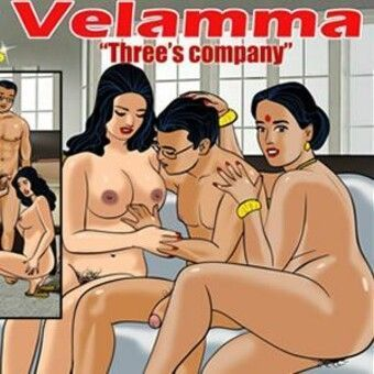 Velamma - Having threesome